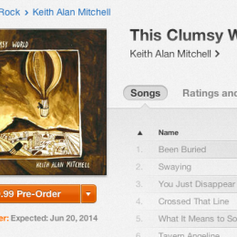 iTunes pre-order available now!